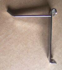 30 Pcs Grid Wall Chrome Hooks Light Duty Angled End 14 Wide Flat Hook 3 Long