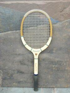 Vintage Grays Cambridge Model J Wooden Tennis Racket 1960s Prop Window Display