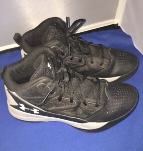 48aec7eb Details about Under Armour Kids' Preschool Jet Basketball Shoes, Size 7Y  Black