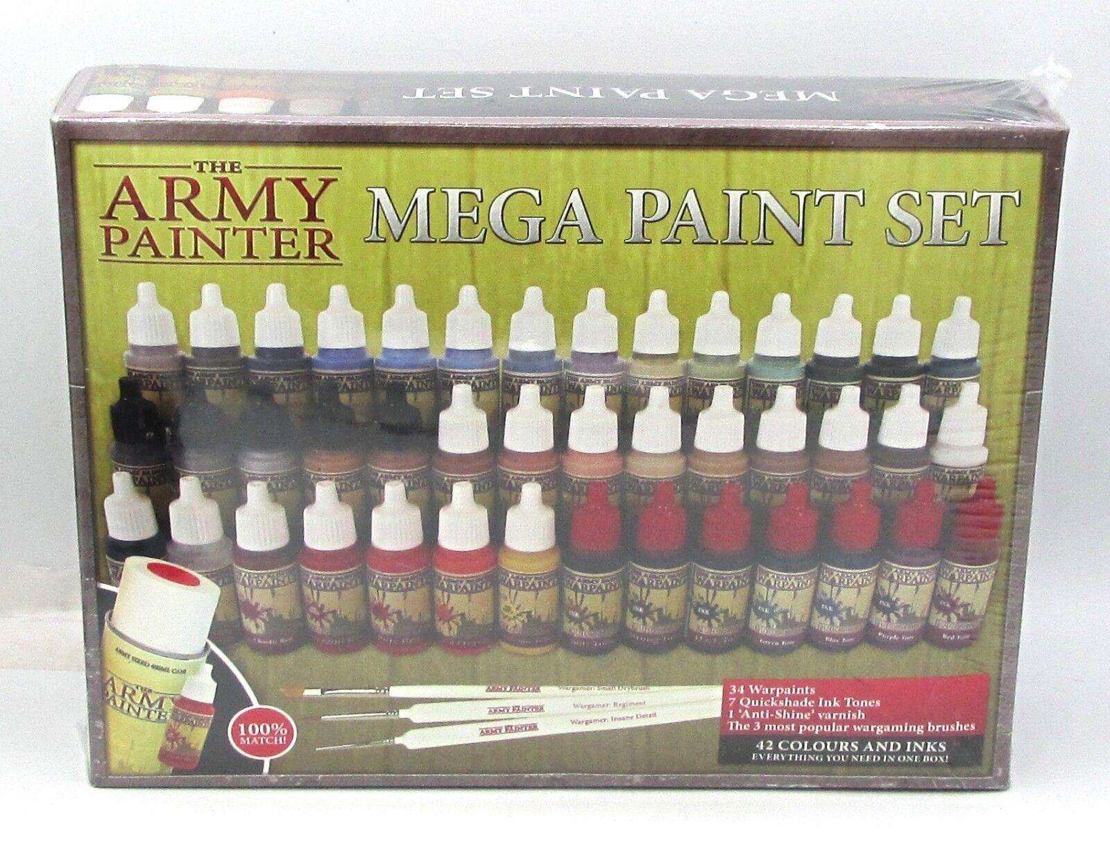 Army Painter WP8005 Mega Paint Set II (2013 Edition) Warpaints Acrylic Paints