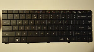 Original keyboard Packard Bell NJ31 NJ32 NJ65 NJ66 Gateway NV40 NV42 NV44 NV48