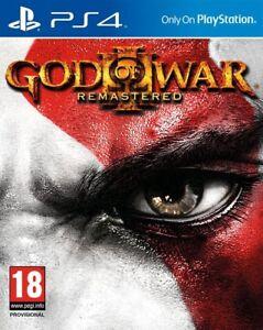 God-Of-War-3-Remastered-PS4-Nuovo-e-Sigillato-in-Stock-Spedizione-Rapida