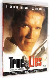 DVD-TRUE-LIES-1994-Azione-James-Cameron-A-Schwarzenegger-J-Lee-Curtis