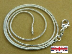 925-Sterling-Silver-Thin-Round-Snake-Chain-Necklace-1-2MM-Length-24-034-Inches