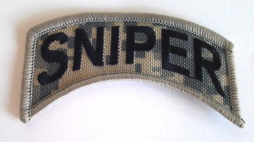 SNIPER CAMO  Military Veteran Biker Rocker Patch PM0784 EE