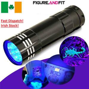 9-LED-Torch-UV-Light-Ultra-Violet-Blacklight-LEDS-Pocket-Flashlight-Mini-Torch