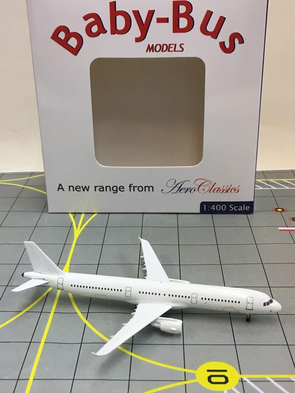 RARE AeroClassics Sample Blank 1 400 400 400 Airbus A321 2afd32