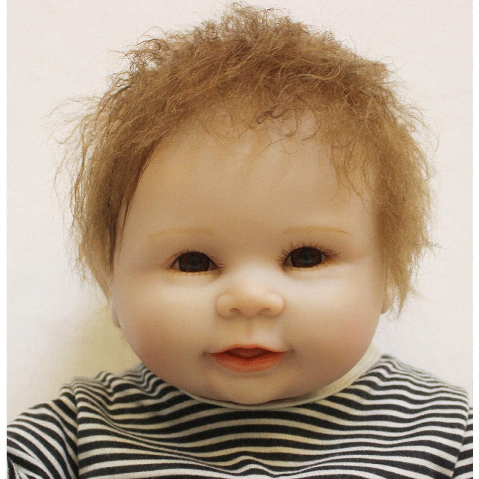 FULL Body Vinile Floppy SILICONE Reborn Doll Bambino realistica Bambola morbida neonato