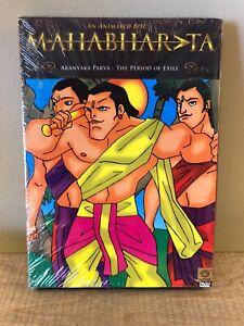 Mahabharata-DVD-Animated-Classic-Aranyaka-Parva-The-Period-Of-Exile-New-NTSC