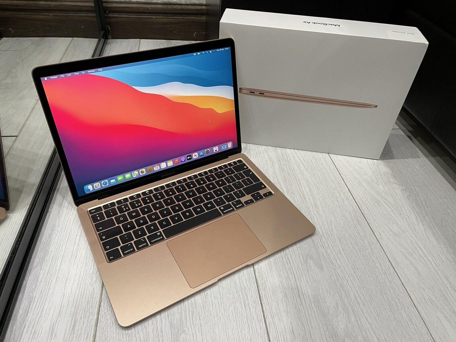macbook: Apple MacBook Air Retina 13.3″ 2020 512GB SSD 8GB Ram 1.1GHz Core i5 Rose Gold