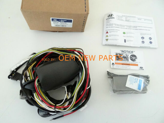 2010 Hyundai Tucson Trailer Hitch Wiring Harness 2s061