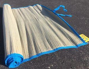 Straw Beach Mat Yoga Colored Trim Home Floor Rug Camping