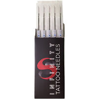 5rs Tattoo Machine Needles Disposable Sterile Box Of 50 Size 5 Round Shader