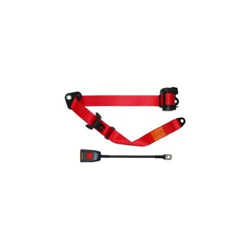 Securon 297cm Red Auto Lap//Diagonal Seat Belt Car//Van//4x4 Safety Accessory