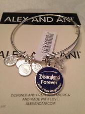 DISNEYLAND FOREVER ALEX AND ANI BRACELET 60TH DIAMOND ANNIVERSARY CELEBRATION