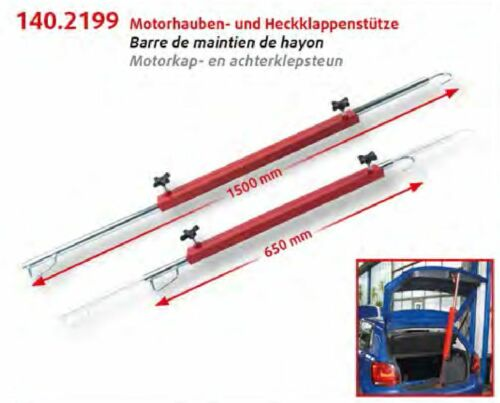 KS TOOLS Motorhauben und Heckklappenstütze 65-150cm 140.2199