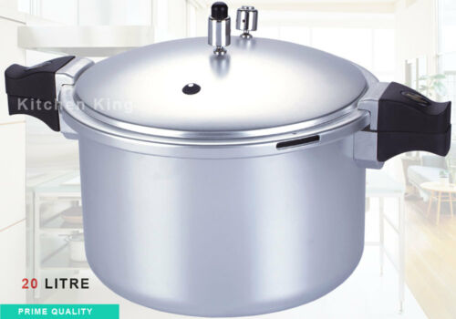 ANODIZED PRESSURE COOKER BLAZE PROFESSIONAL HEAVY DUTY USE KITCHEN KING