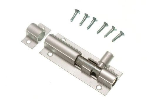 Chrome Offset coudé Porte Boulon 75 mm 3 in environ 7.62 cm Complet avec vis.