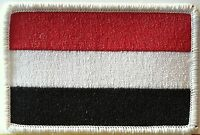 Yemen Flag Patch Military Patch With Velcro® Brand Fastener White Emblem 15