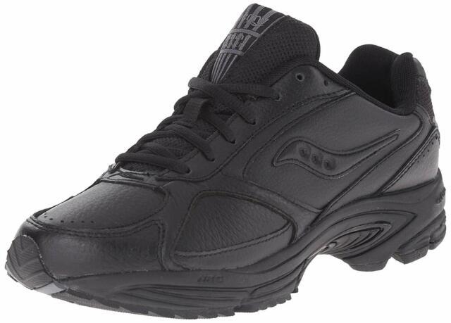 Saucony Men's Shoes Grid Omni Low Top Lace Up Walking Shoes, Black, Size 8.0 PTf