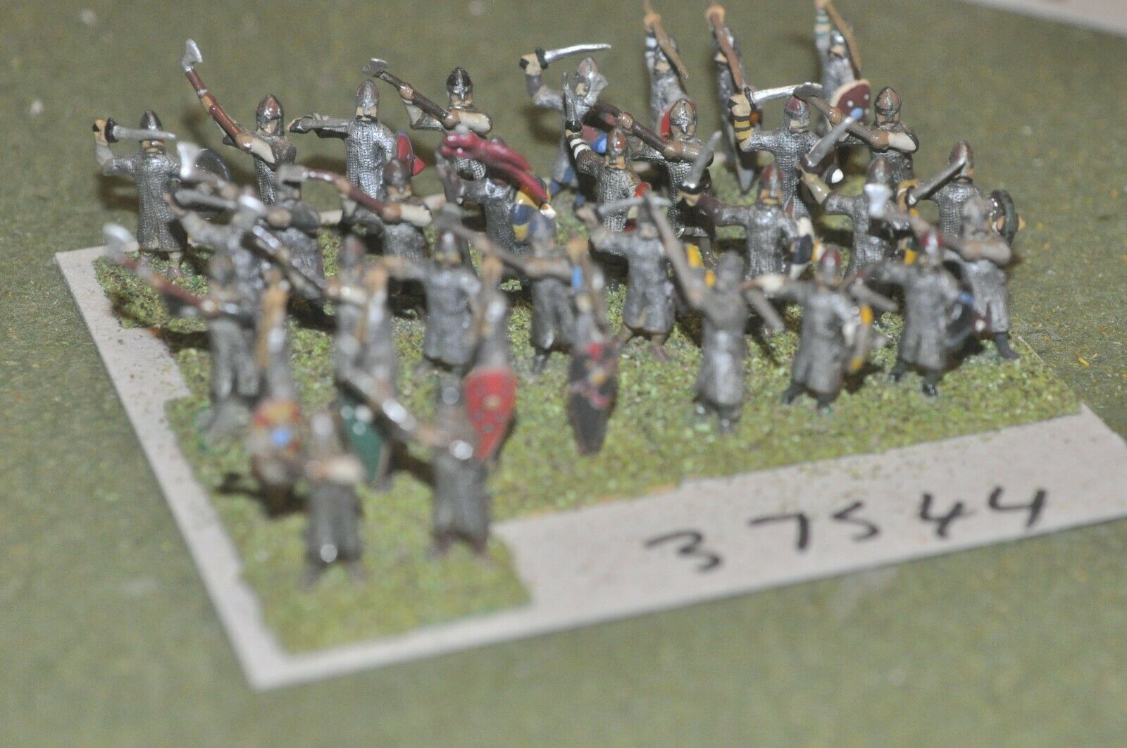 25mm edades Oscuro anglo-danés-husCochels 32 figuras-INF (37544)