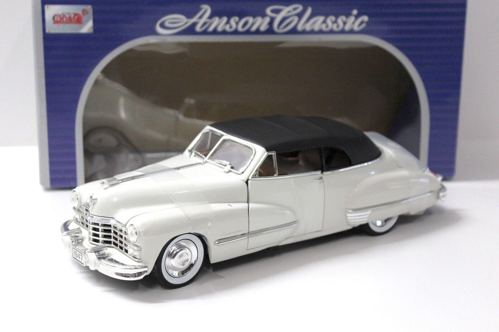 1 18 Anson illac Series 62 Convertible blanc 1947 New chez Premium-modelcars
