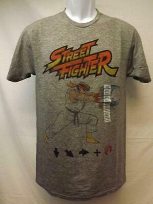 New Street Fighter Capcom  Adult Mens S-M-L-XL-2XL Gray Shirt $20