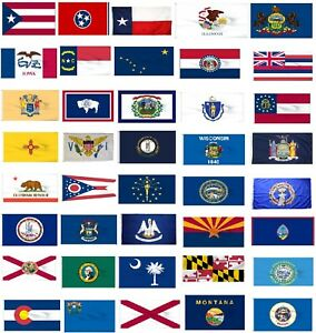 usa state flags choose your flag united states of america gift red