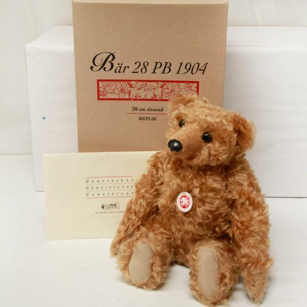 1904 Bear PB 28 from the Steiff Sammlung