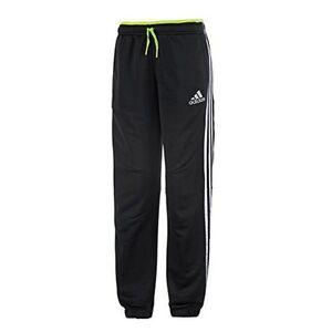 Adidas-Ninos-Negro-Locker-Room-poliester-PISTA-PANTALoN-7-8-ANOS-amp-9-10-ANOS