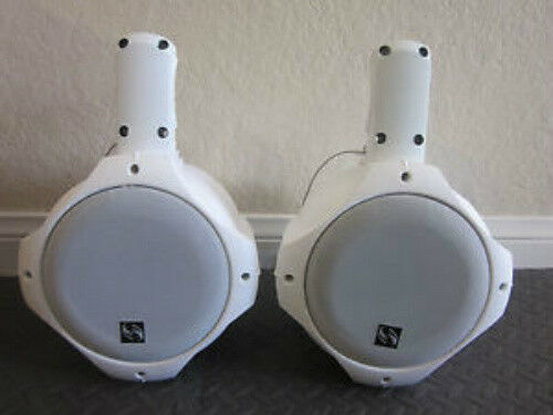 "NEW 6.5/"" Wakeboard Tower Speakers.Marine.Boat.PAIR.wake.Ski Lake Woofers.Mount"
