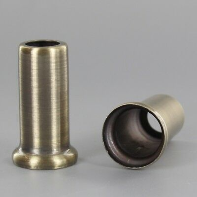 "LAMP HARP ~ SHADE RISER ~  Solid Turned Brass ~ 1/"" Tall ~ Lamp Parts ~ YB64"