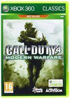 Call Of Duty 4 Modern Warfare Xbox 360 Brand Factory Sealed
