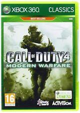 Call of Duty 4 Modern Warfare Xbox 360 Brand New Factory Sealed