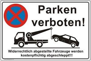 Parking Bouclier Stationnement Interdit Danger Stationnement Interdit Panneau Stationnement Interdit P4+-ild Parken Verboten P4+ Fr-fr Afficher Le Titre D'origine