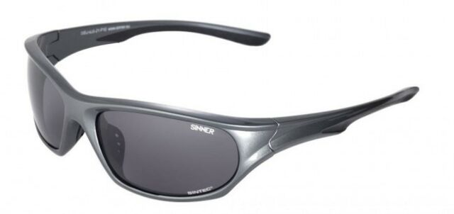 e02027197b78 SINNER Fury Wrap Sport Sunglasses in Antracite   Polarised Sintec ...