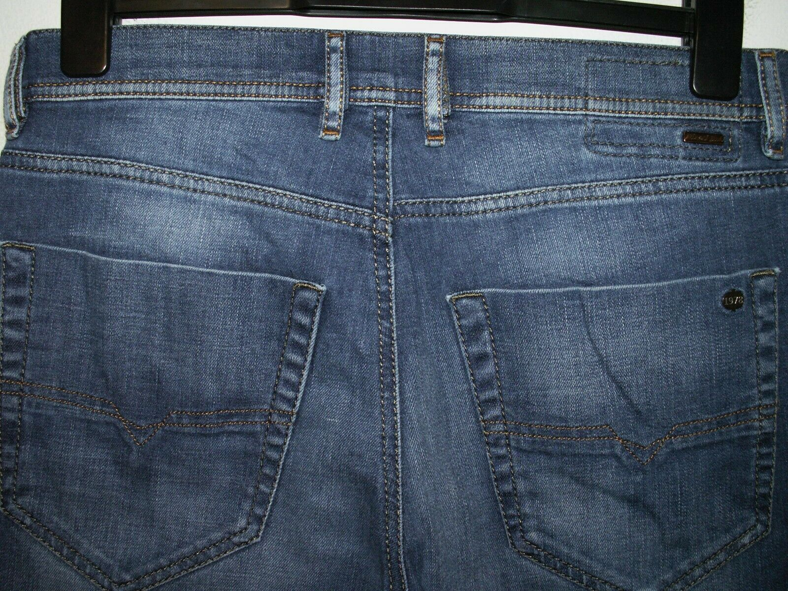 b2a1b052 DIESEL TEPPHAR SLIM-CARred FIT 0831D STRETCH L32 5957 JEANS W30(32)  navlnd1579-Jeans