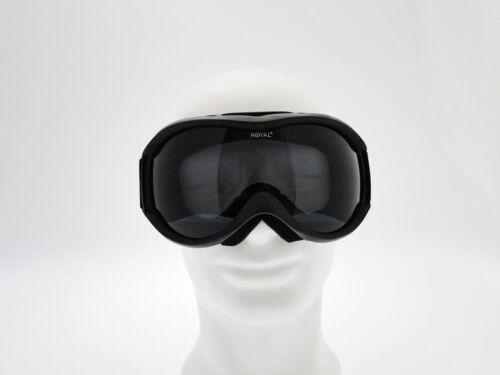 Maschera softair Dark Round Nera con lente in plexiglass Royal