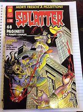 Fumetto Splatter Anno II N12 Giugno 1990 DISCRETO!!