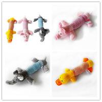 Haustier Spielzeug Kauen Ente Hunde Welpen Plüsch Chew Quietsche Squeaky