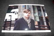 """Dane DeHaan signed Autogramm auf 20x28 cm """"SPIDER-MAN"""" Bild InPerson LOOK"""