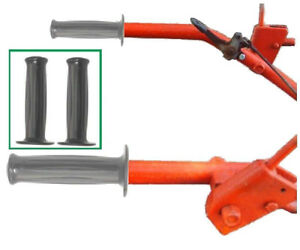 2-NEW-Gravely-L-Model-500-5000-Handle-Bar-Grips-Style-H-034-Ribbed-034-1-034-inch-OD