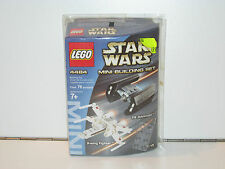 LEGO STAR WARS 4484 X-WING FIGHTER & TIE ADVANCED FIGHTER MISB SEALED BOX NRFB