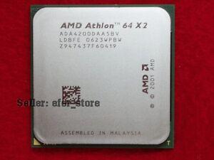 Athlon Athlon X2 4200 2.2GHz Dual-Core CPU Processor X2-4200 ADA4200DAA5BV ADA4200DAA5CD 89W Socket 939PIN