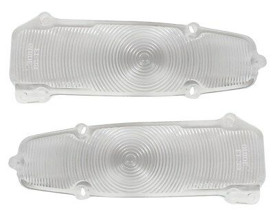 1959 59 Impala Belair Biscayne Parking Light Lens Pair El Camino Made in USA