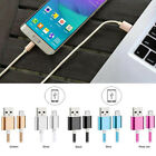 0.25m Nylon Braided Micro USB Sync Data Charger Cables Lead Cord For Android