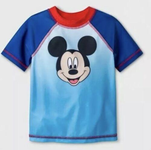 Toddler Boys/' Disney MICKEY MOUSE Swim Rash Guard
