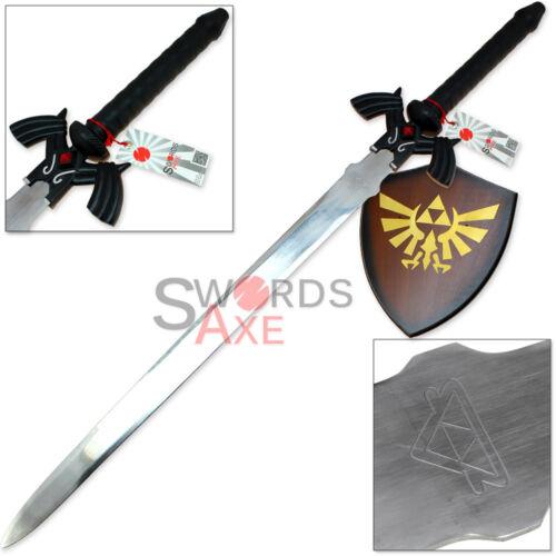 Dark Link Legend Of Zelda Masters Sword Links Nemesis Steel Replica Ocarina Time