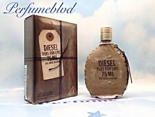 DIESEL FUEL FOR LIFE 2.5 FL.OZ 75 ML EAU DE TOILETTE SPRAY MEN SEALED