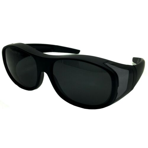 Polarized Shield FIT OVER SUNGLASSES COVER All Glasses Drive Fishing Solar Large
